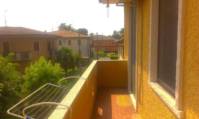 Terrasse Vue directement de chambre privée
