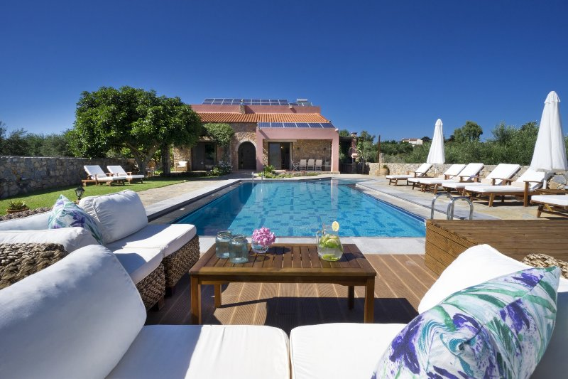 Villa Nafsika, holiday rental in Vamos
