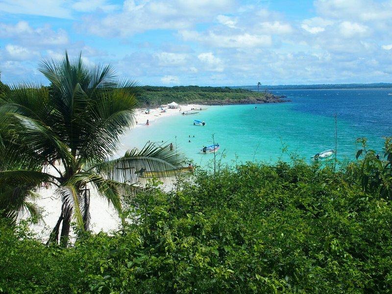 Isla Iguana es sólo un paseo en barco 50 y 10 de la unidad minuto de la casa.