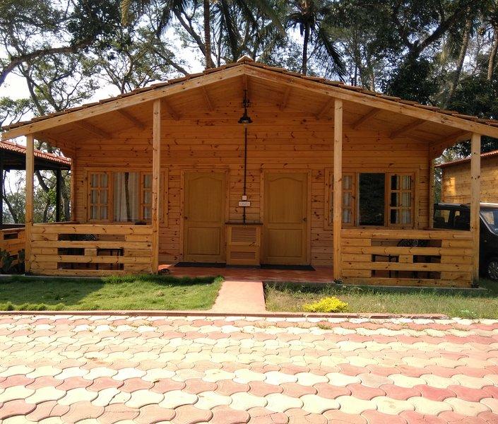 TripThrill Coffee Cadu Estate (10) - 1BHK, vakantiewoning in Kodagu (Coorg)