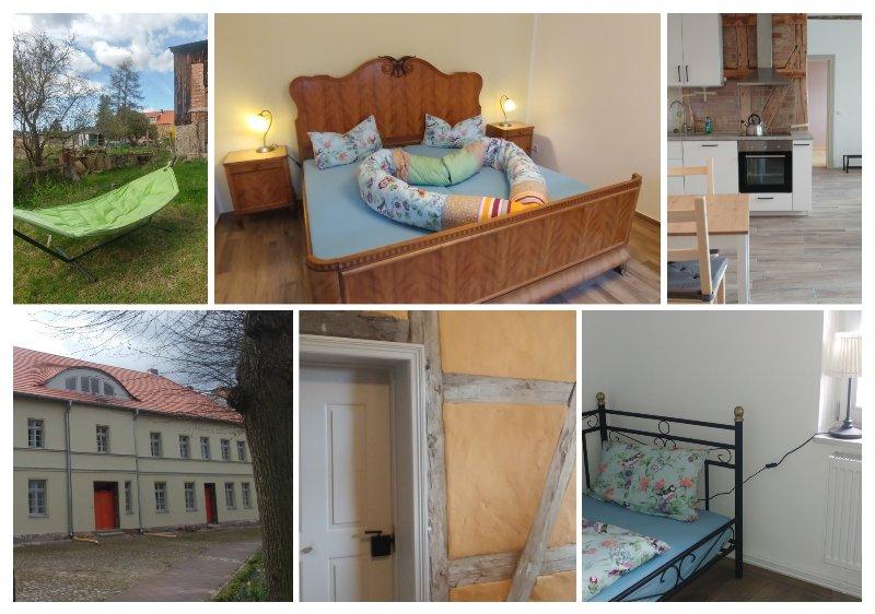 Mirabellenhof - kleine Ferienwohnung mit Altstadtblick, holiday rental in Zepernick