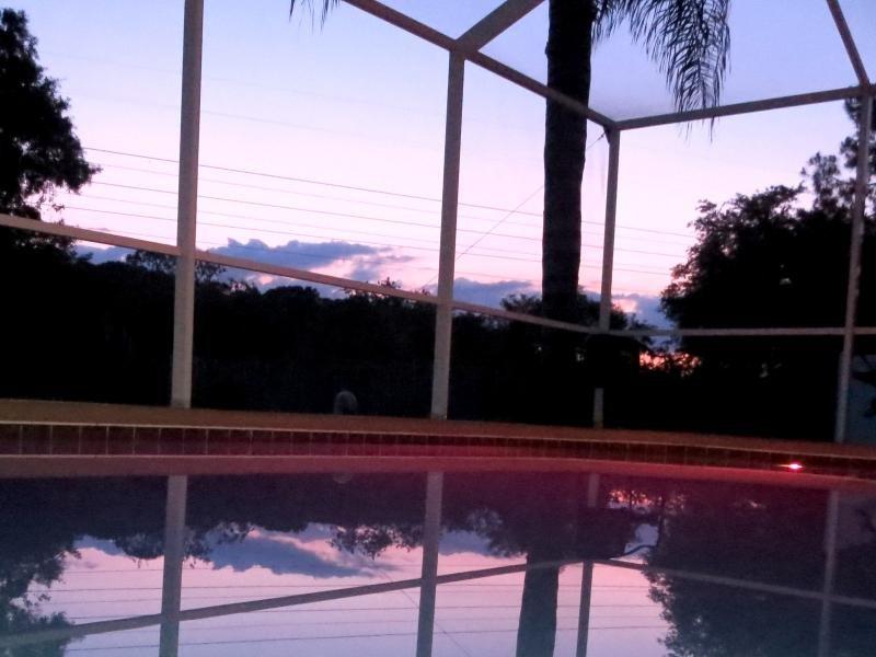 Détendez-vous dans la piscine ou du spa tandis que le soleil se couche sur la cime des arbres.