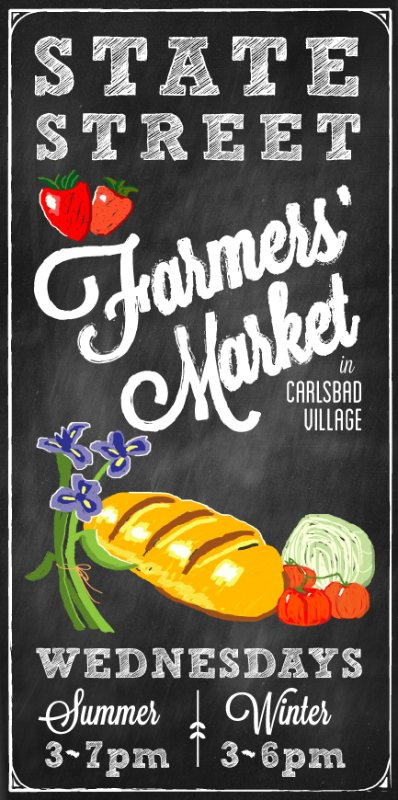 Enjoy our Farmers market on Wednesday evenings. Located in the Village on State St