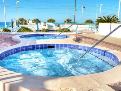 Surfside Resort has 2 large hot tubs