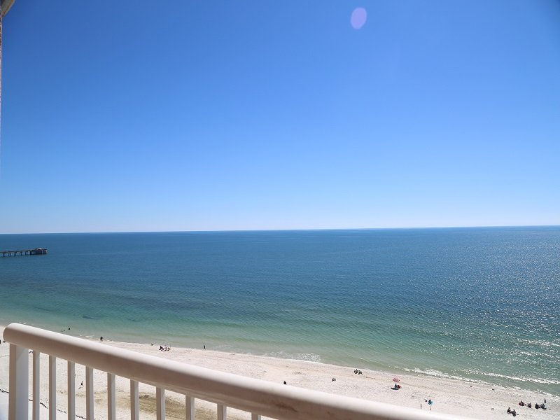 Amazing top tier views from your private balcony!