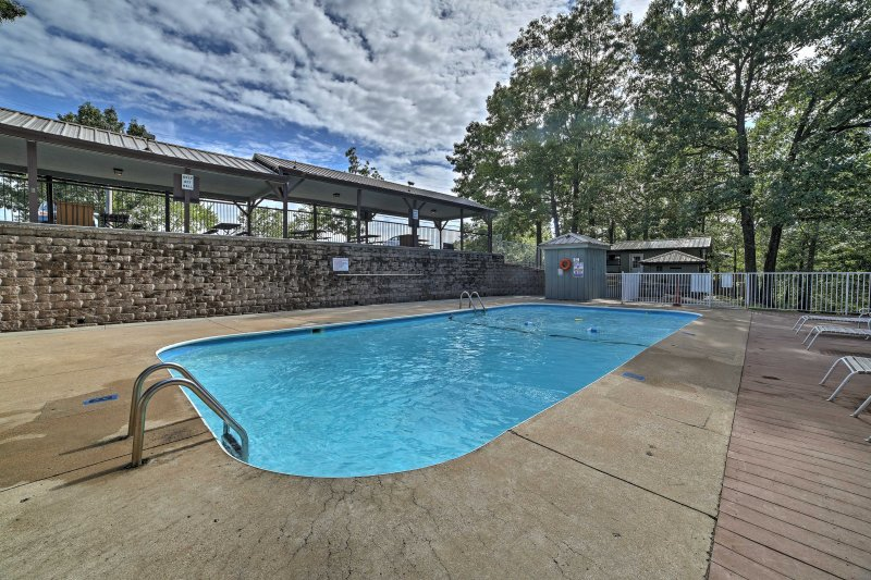 Swim in one of the 2 community pools at this vacation rental destination.