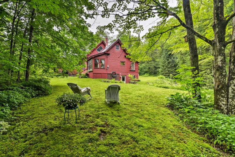 Submit to the welcomed relief of the woods and relish in this historic home.