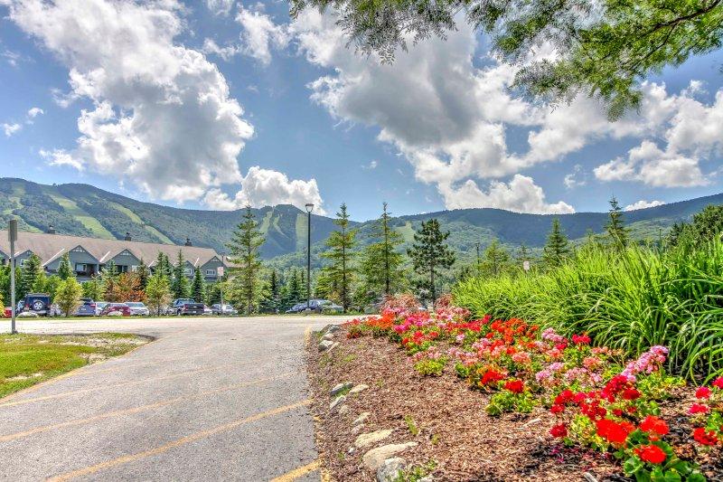 Cette maison de ville est seulement 1,6 miles de la Killington Ski Area et 5.2 miles de Pico Mountain!
