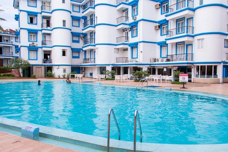 TripThrill Royal Palms 1 Bedroom Holiday Apartment - 2, location de vacances à Benaulim