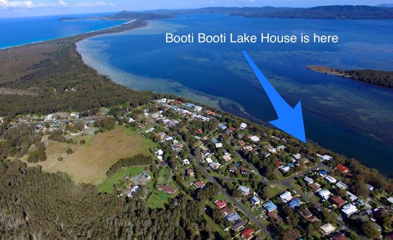 Booti Booti Lake House, alquiler vacacional en Tuncurry