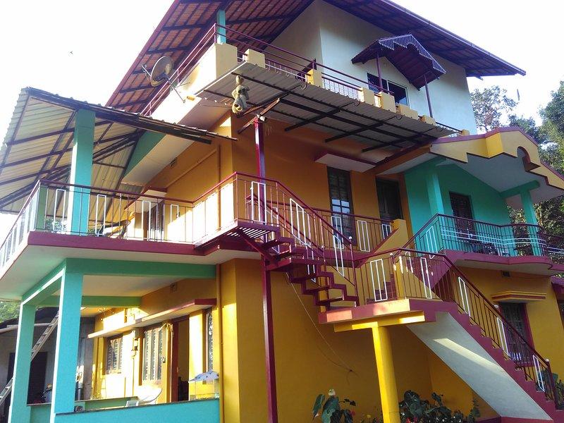 TripThrill Skyline Estate (1) - 1BHK, vacation rental in Virajpet