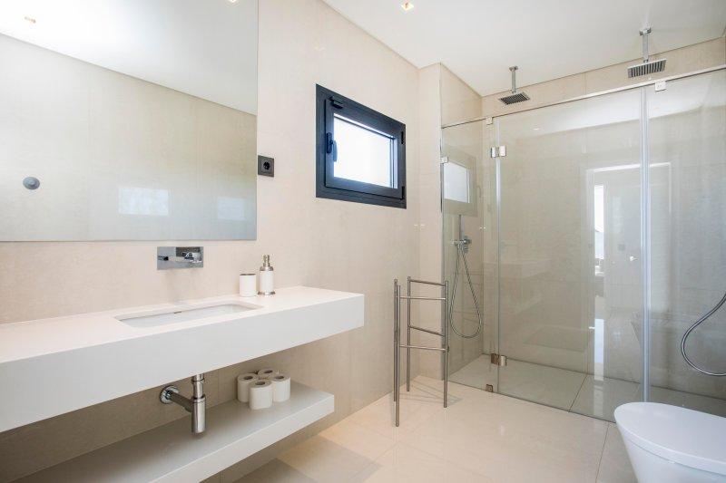 Double douche deuxième étage