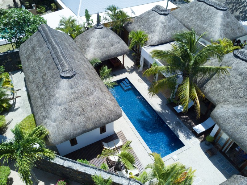 4 bedroom villa Birds view
