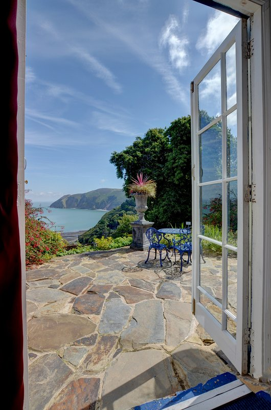 Baronets Quarters private Terrace with panoramic seaviews