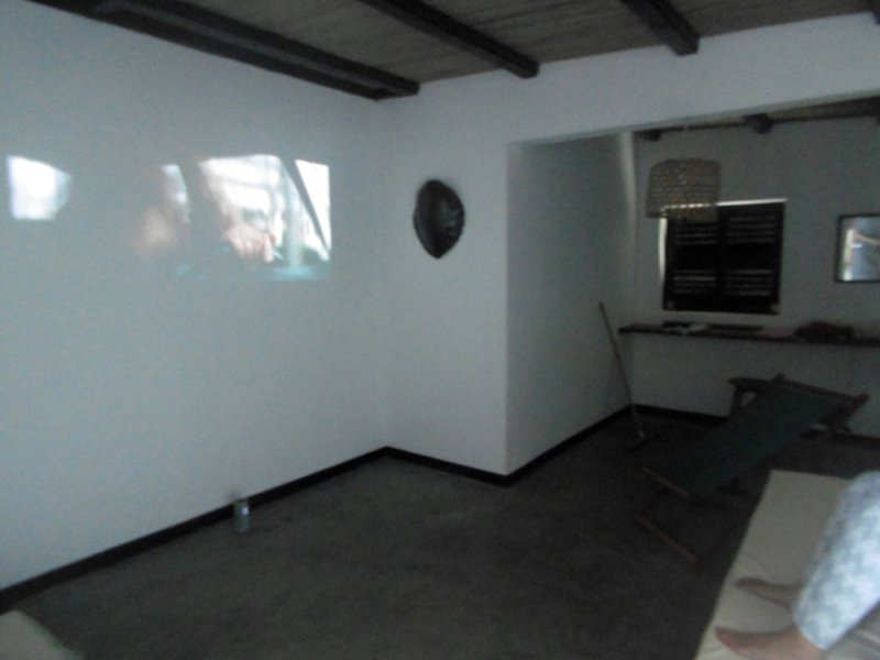 The office with its projector