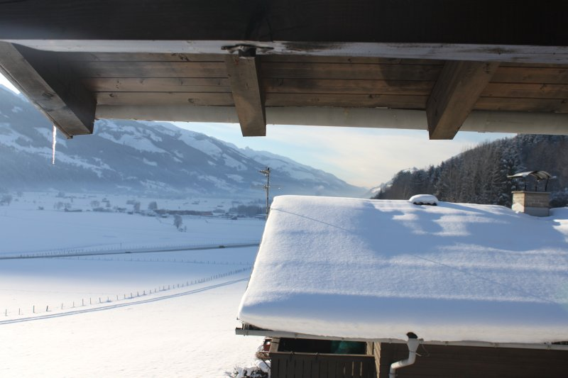 mountain views from balcony - close the ski slopes