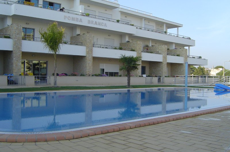 Pool View of Property