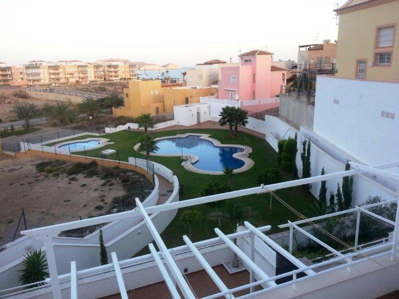 6TER Apartment with sea views, alquiler de vacaciones en Pulpí