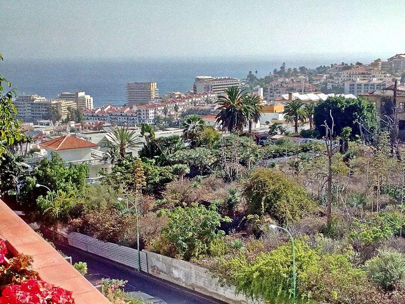 fantástica vista desde la terraza al mar
