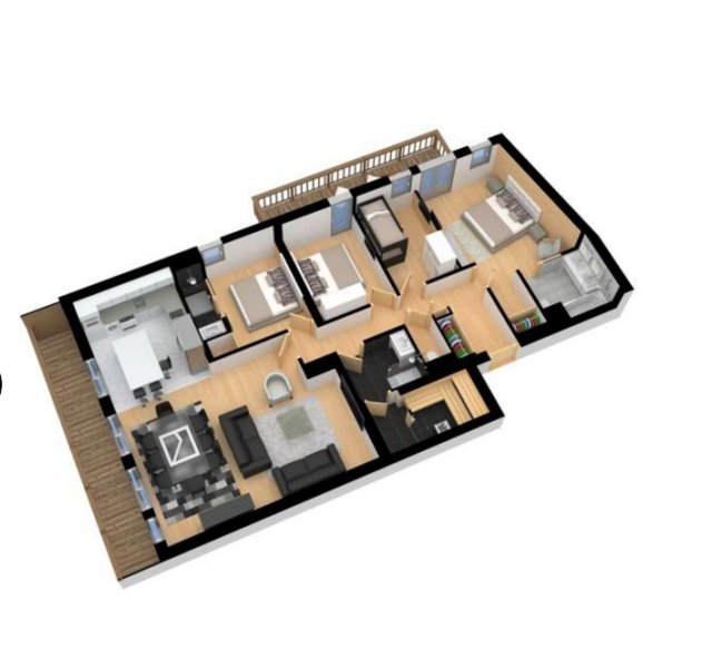 Apartment Freeman Chalet in Courchevel