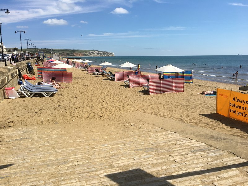 plage de Sandown, à seulement 5 minutes de l'appartement