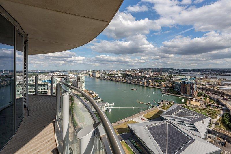 glorioso vista !!! Situato a soli 5 minuti a piedi dal ExCel London Exhibition Centre di Londra.