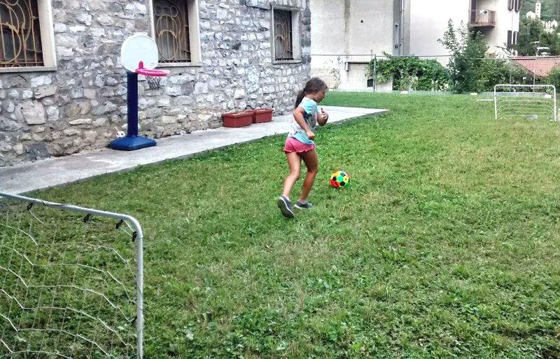 The soccer field for kids