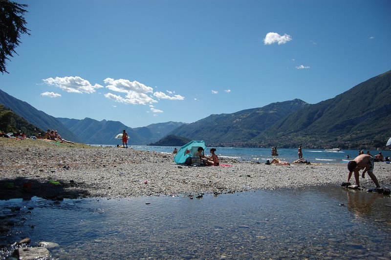 San Giovanni beach, 15 minute drive from the villa.