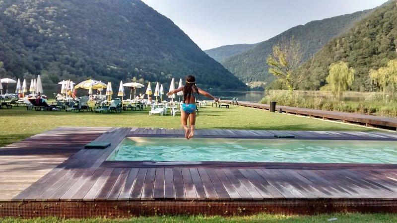 Lido Acquilegia, 5 minute drive from the villa