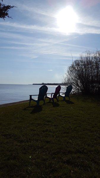 vous asseoir et profiter du lever du soleil
