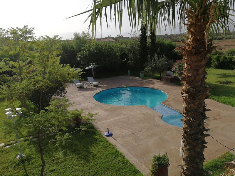 Villa de Campagne  20km de Marrakech, holiday rental in Aghmat