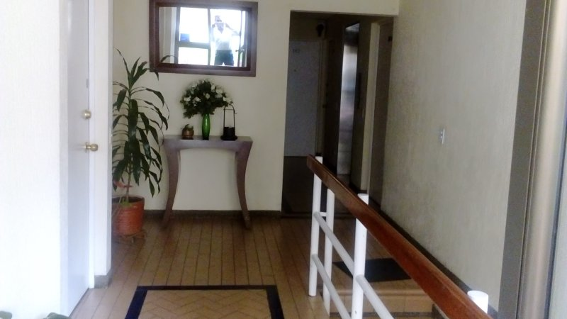This is the entrance of the apartment privadad