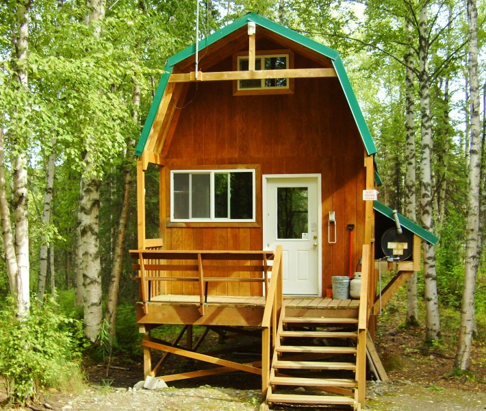 Willow Rentals: ALASKA'S Winter Park Cabins Has Internet Access And Grill