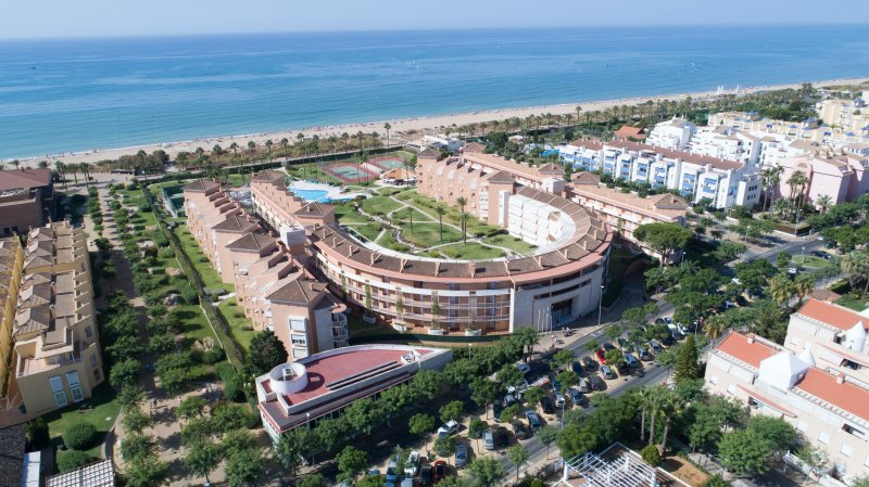 Apartments Las Americas, on the beach, in the best location in Islantilla