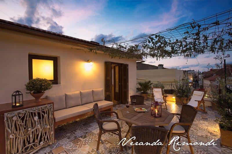 Rimondi Veranda House, Old Town, vacation rental in Rethymnon
