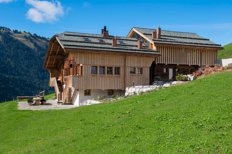 louer appart Gstaad Chalet Malone