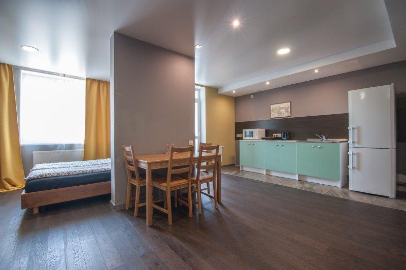 Apartment-studio WOODSTONE, vacation rental in Sverdlovsk Oblast