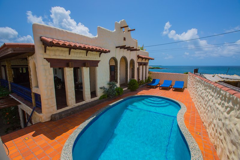 Lounge by the Plunge Pool, with sun, and ocean breezes off the Atlantic.