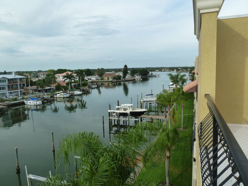 Rooftop Terrace View of Intercoastal.  On Rooftop can also see widespan gulf Beach
