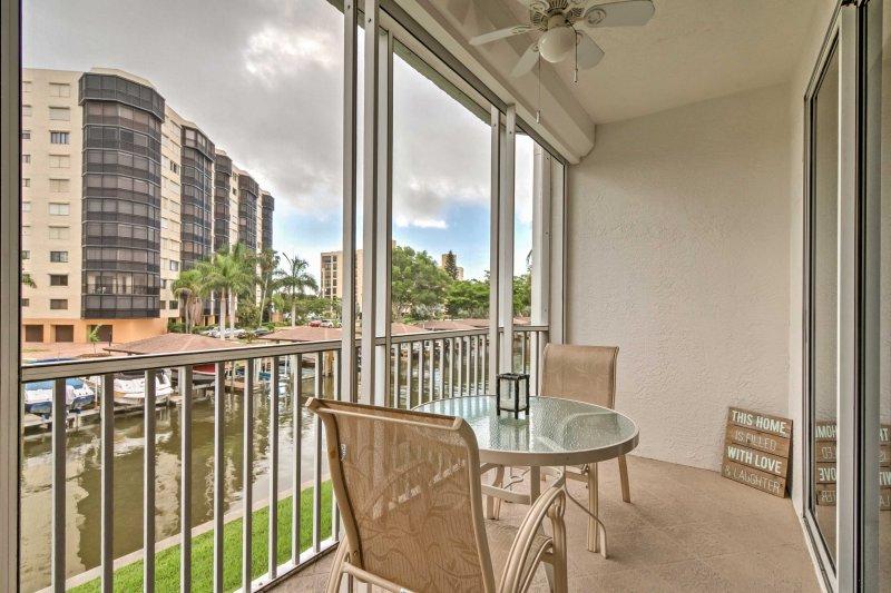 Entdecken Floridas Golfküste von 2-Schlafzimmer, 2-Bad Ferienmieteigentumswohnung in Fort Myers!