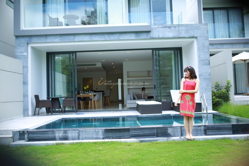THE POINT - BEST 3 BEDROOMS GOLF COURSE VILLA IN DA NANG, aluguéis de temporada em Da Nang