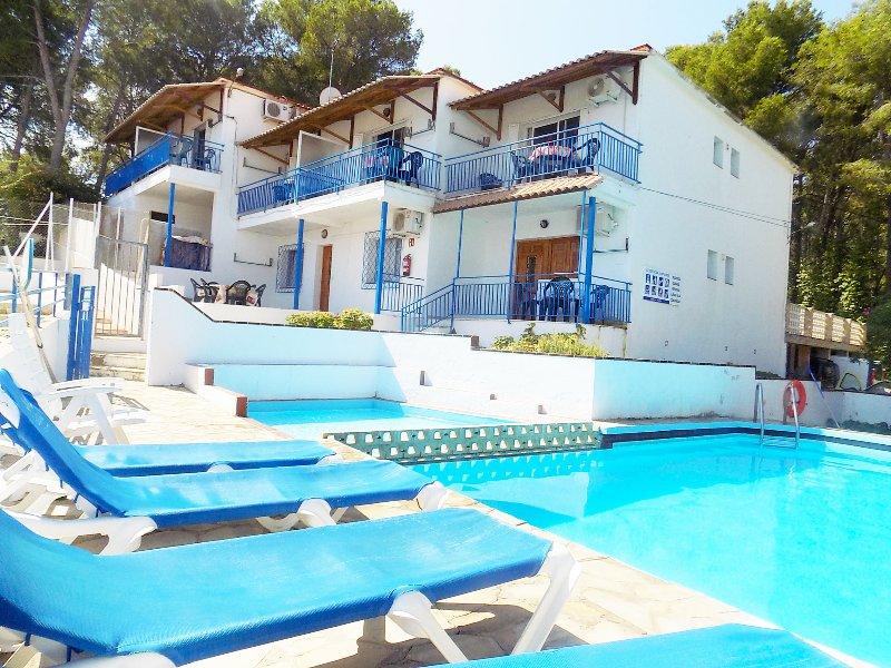 Salou - Apartamiento vista mar, piscina, parking, wifi, casa vacanza a Salou
