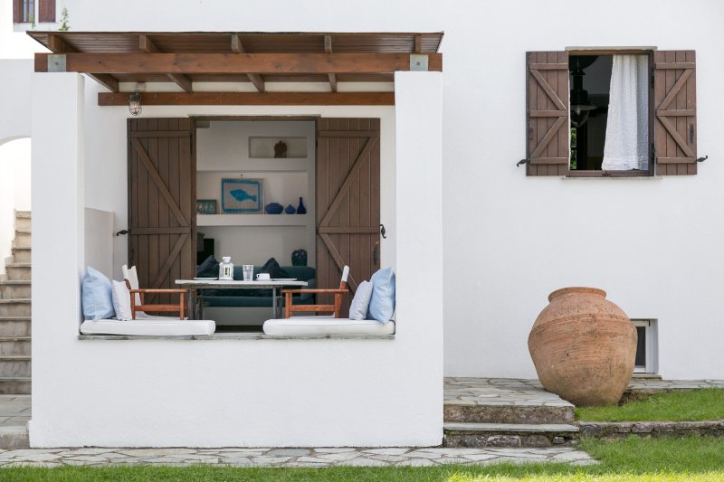 Two Floor Villa front terrace