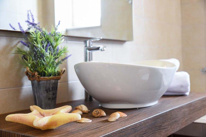 Bath amenities are provided