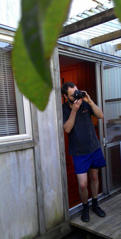 Min man på dörren sätt Eco vänligare Tiny House