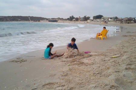 Megadim Beach