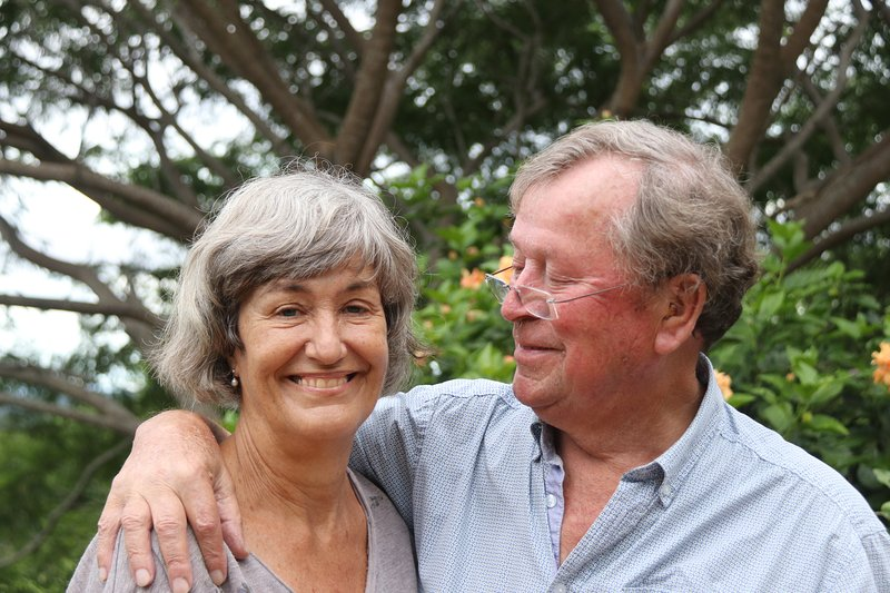 Nel and her husband Joop, a Dutch couple, who like to welcome you to be their guest.