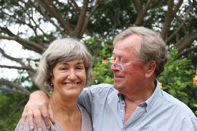Nel y su marido Joop, una pareja holandesa, que gustan de darle la bienvenida a ser su invitado.