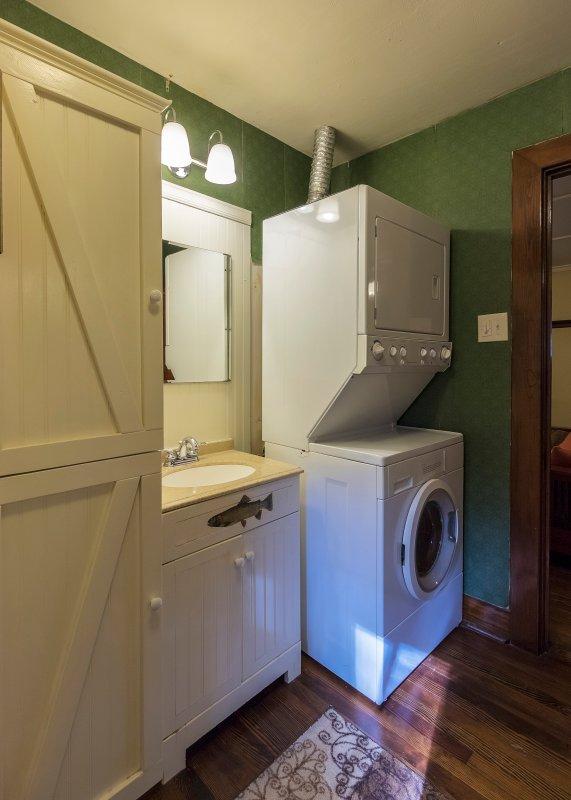 Carga frontal moderno Centro de Servicio de lavandería