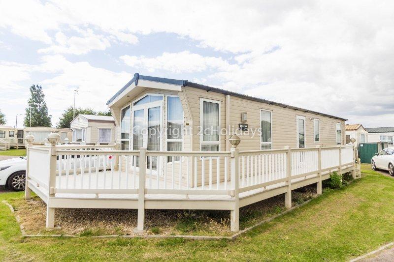 6 berth caravan for hire at Naze Marine Holiday Park